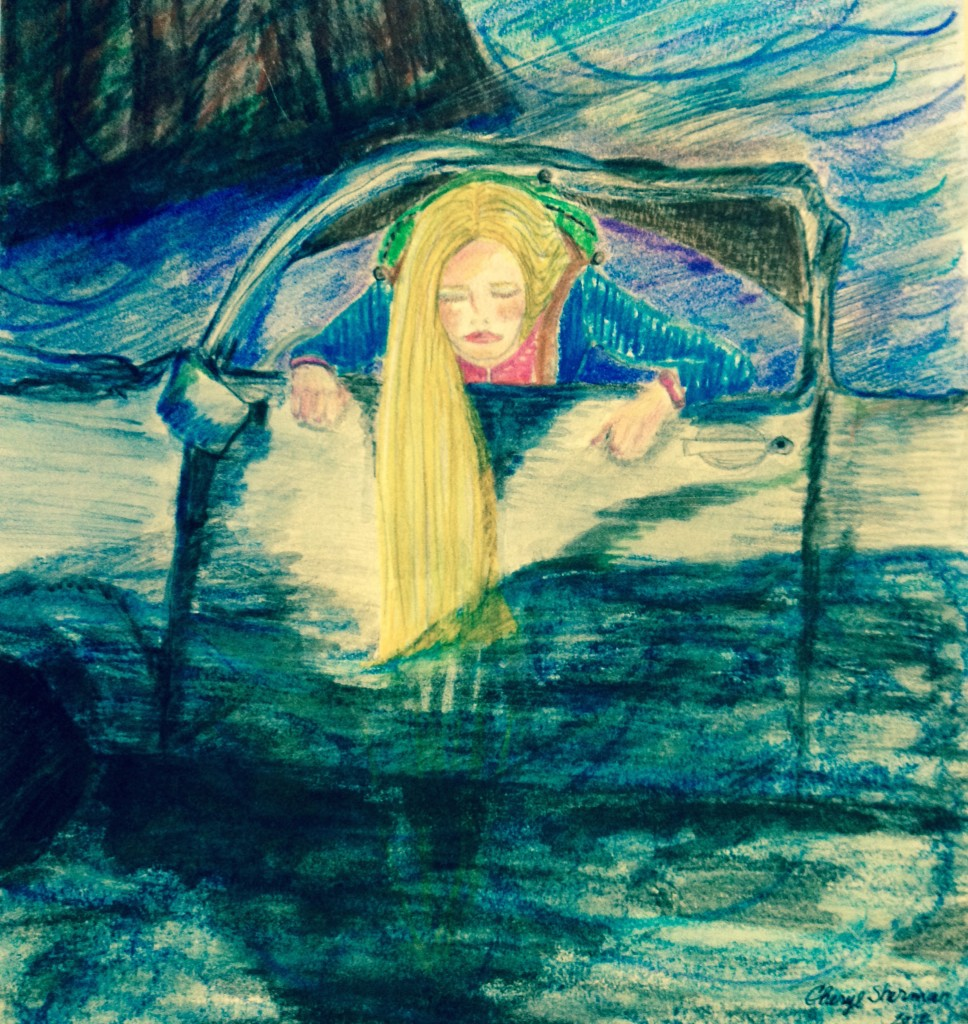 Concept Art of Callista in the Truck Accident