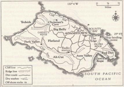 Handdrawn Map